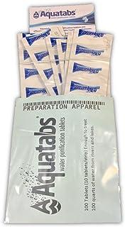 Aquatabs AQT100 Water Purification Tablets (Pack of 100)