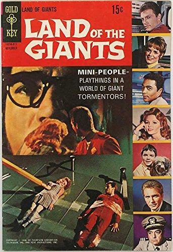 Land of the Giants - Gold Key Televison Series Comic #1 - Deanna Lund Bondage Cover - November 1968
