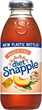 Diet Snapple Peach Tea, 16 fl oz (12 Plastic Bottles)