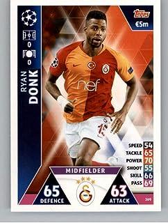 2018-19 Topps UEFA Champions League Match Attax #369 Ryan Donk Galatasaray S.K. Soccer Trading Card