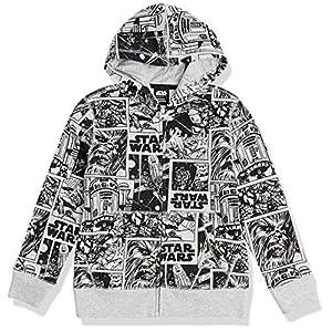 Amazon Essentials Niño Disney Star Wars Marvel Sudaderas con capucha y cremallera de forro polar 14