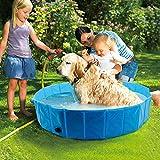 Bañera Plegable De Mascotas Baño Portátil para Animales Piscina para Perros Y Gatos Adecuado para Interior Exterior Al Aire Libre