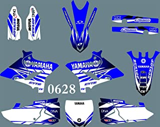 DST0628 3M Sticker Motorcross Graphic Motorcycle Decals Stickers Kit Graphics set for Yamaha YZ125/YZ250/X 2015 2016 2017 2018 2019