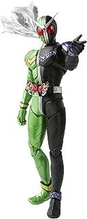 S.H.フィギュアーツ (真骨彫製法) 仮面ライダーW サイクロンジョーカー 約145mm PVC&ABS製 塗装済み可動フィギュア