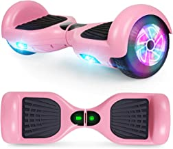 CBD Flash Hoverboard, Two-Wheel 6.5 inch Self Balancing Hoverboard with Bluetooth and LED Lights for Kids Adults