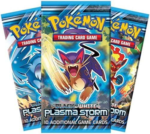 [UK-Import]Pokemon  56 schwarz And Weiß Plasma Storm Trading Card Booster Box - 36 Count CDU