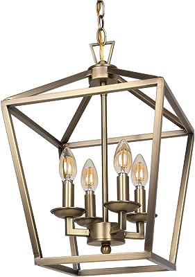 Copper Lamp Lantern Hallway Ceiling Lamp Mid Century Vintage Lamp Antique Lamp Hanging Lamp