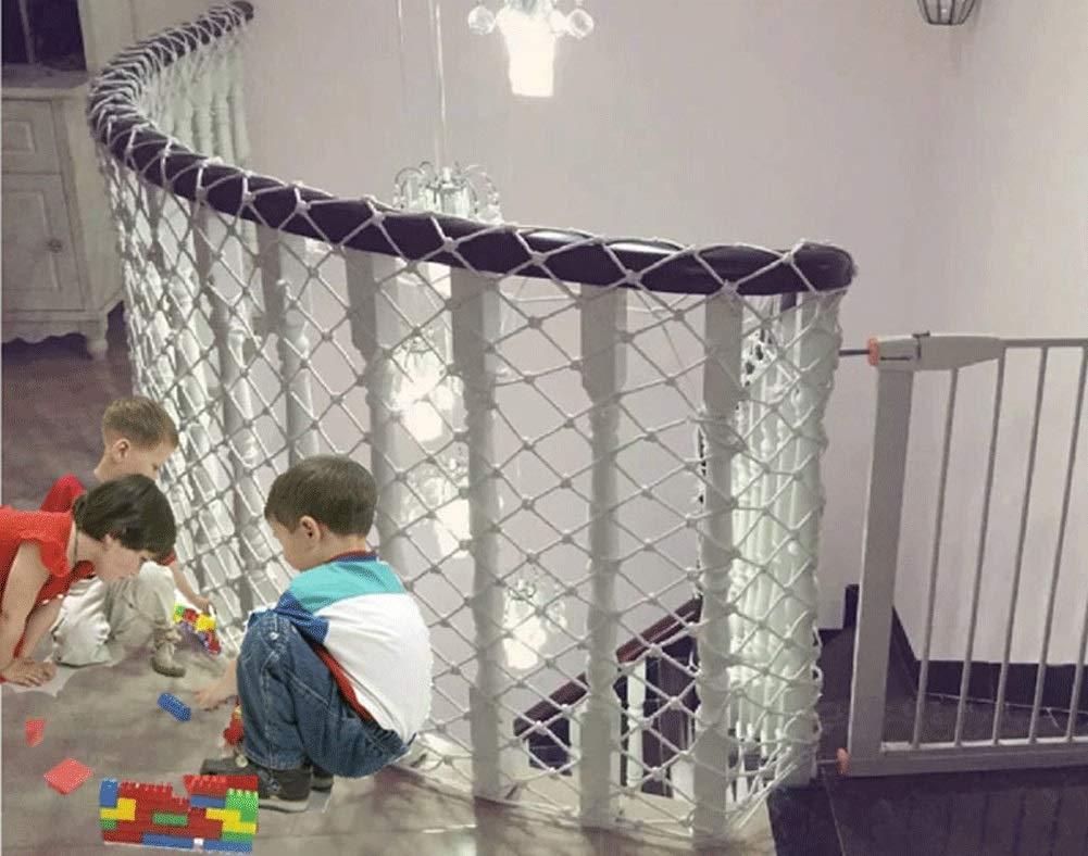 Seguridad for Niños neto, neto Planta emplazamiento de la obra de tren de protección infantil red protectora neto de escalera Balcón Red de Seguridad de carga de camiones remolques Escalada Escalada a: