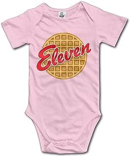 L'Eggo My Eleven Crewneck Infant Babysuit Climb Romper Baby Onesies