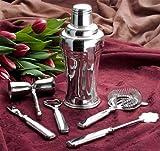 Ricci Silver Plated Art Deco Martini Shaker