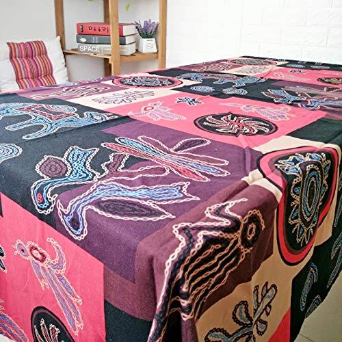 CFWL Mantel De AlgodóN Y Lino Mantel para El Hogar Mantel para Hotel Mantel para Hotel Mantel ArtíStico Mantel Redonda Mantel Tela Blanco Grande Mantel Blanco Grande Boda Rosado 140x180cm