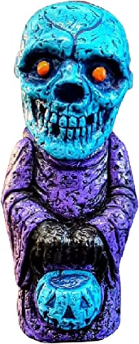lowest SegkopuoL Horror Colorful Zombie Statue, Midnight Ritual Demon Statue, discount Halloween Figurines for Home Bedroom Garden Decoration online (Skull) online