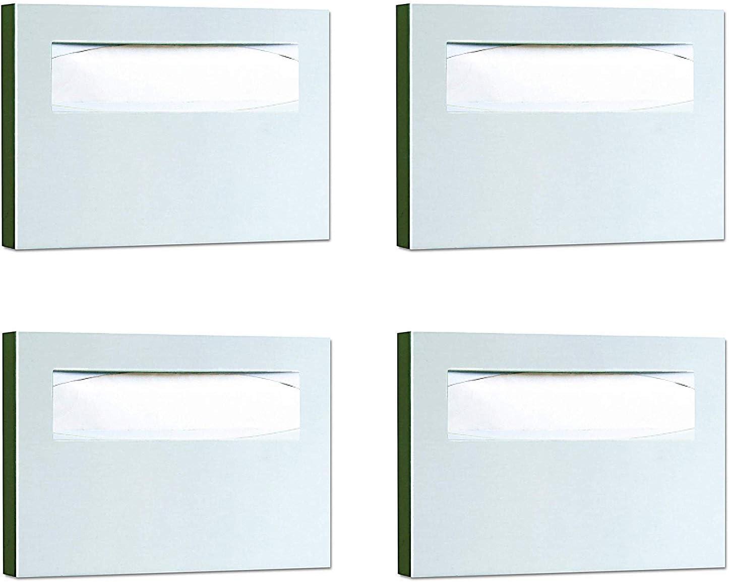 In stock Bobrick 221 Stainless Steel Toilet Seat 4 Dispenser Popular brand in the world Cover 3 15