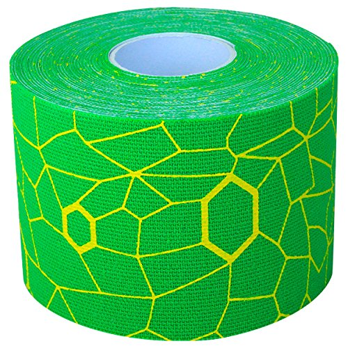 TheraBand Tape Electric Green/Yellow, Individual Roll