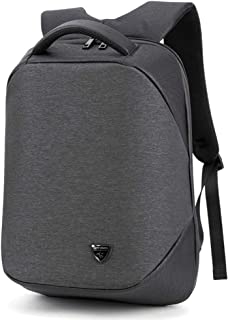 Arder Men's Backpack Outdoor Travel Backpack Leisure USB Charging Multi-Function Decompression Computer Bag Relaxed (Color : Gray)