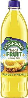 Robinsons Fruit Orange and Pineapple Squash No Added Sugar, 1 Litre
