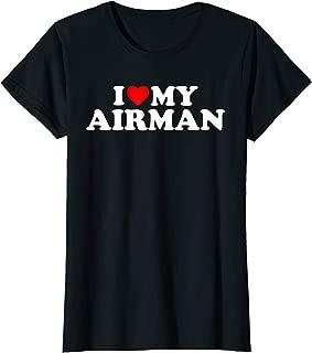 I Love My Airman T-Shirt - Air Force Tshirt