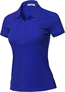 royal blue uniform polo