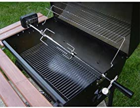 Char-Griller 5022 Deluxe Rotisserie Kit for Outdoor Grills