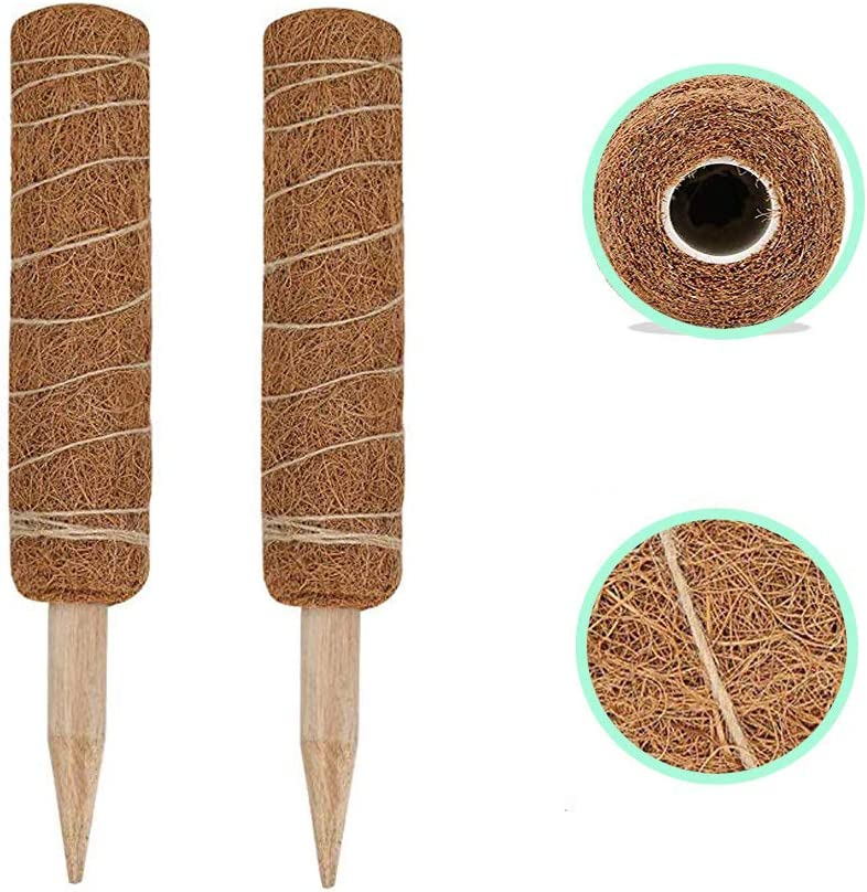 Useller 24 inch Coir Popular products 67% OFF of fixed price Moss Totem Climbing Pole Plants Plant Stake