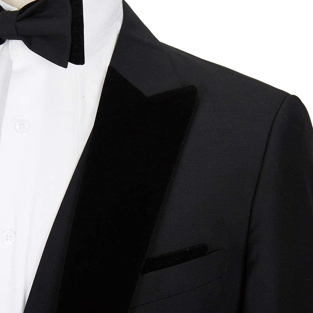 Tailored Men's 3 Pieces Suit Elegant Solid One Button Slim Fit Single Breasted Party Blazer Vest Pants Set