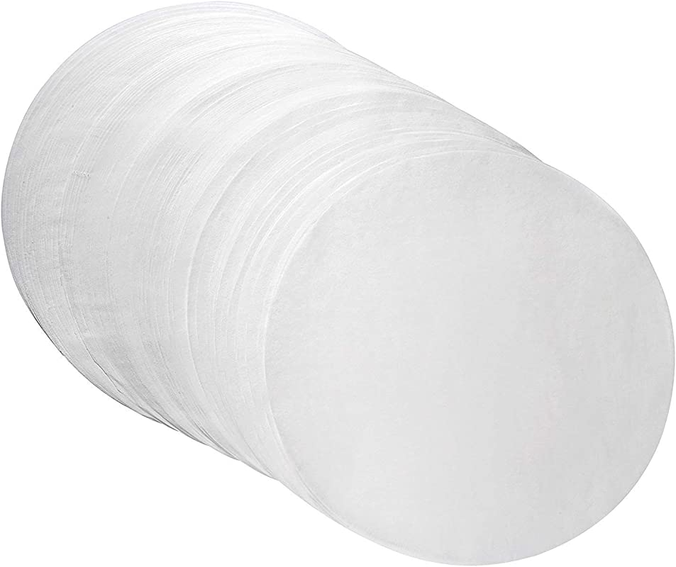 Parchment Paper Baking Circles 8 Inch Diameter Baking Paper Liners For Baking Cakes Cooking Dutch Oven Air Fryer Cheesecakes Tortilla Press 100 PCS