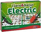 Noris 606013722 Tiere und Natur Electric, Der Lernspiel-Klassiker, was passt zusammen, Es blinkt,...