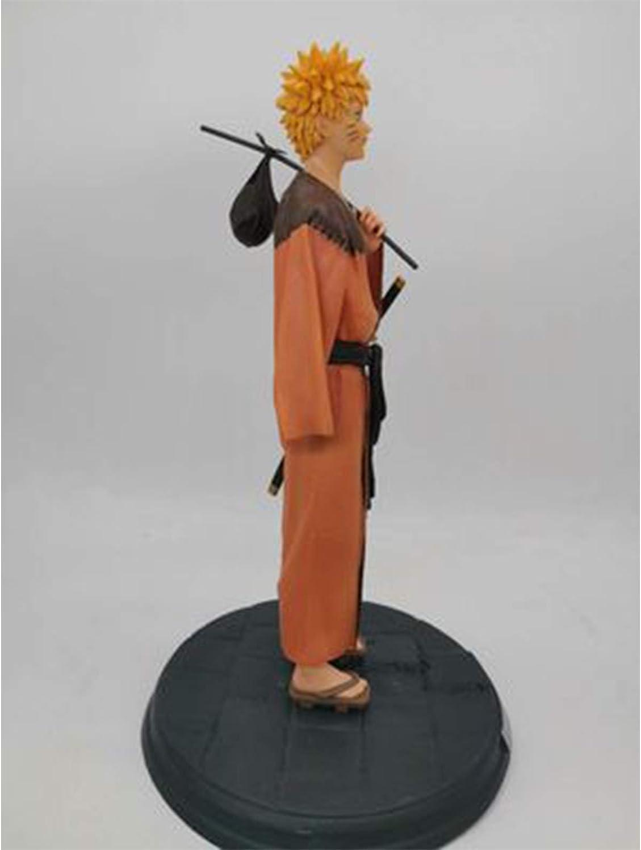 Naruto Anime Figure 30CM Uzumaki Naruto Uchiha Sasuke Statue Collectibles Souvenir Decorations Model Lovers Gift Uchiha Sasuke Uzumaki Naruto