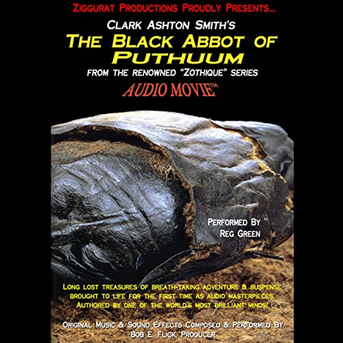 The Black Abbot of Puthuum audiobook cover art