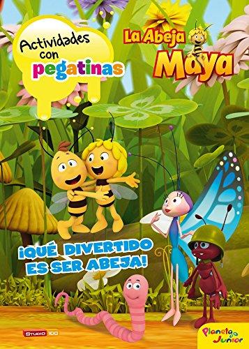 La Abeja Maya. Actividades con pegatinas: ¡Qué divertido es ser abeja! (La Abeja Maya 3D)