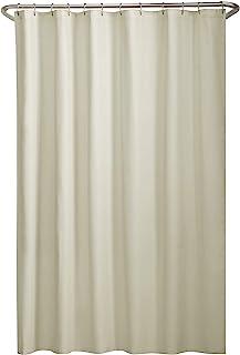 MAYTEX Water Repellent Fabric Shower Curtain Liner 70 X 72 Bone