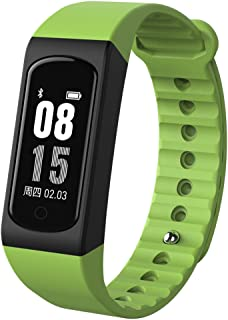 Padcod Smart Bracelet Fitness Tracker, Bluetooth Call Remind Remote Camera Control Smart Watch Sports Tracker Calorie Counter Wireless Pedometer Heart Rate/Sleep Monitor for Android iOS Phone