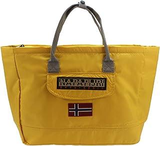 Bolso de tela de poliéster para mujer Amarillo