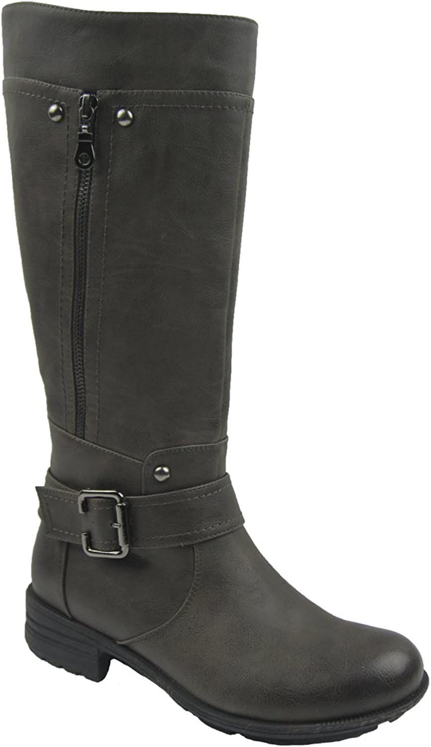 Comfy Moda Women's Meggie Winter Snow Boot Wool Lining Water Resistant Size 6-12