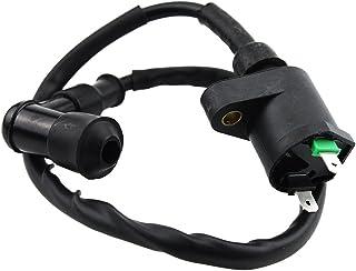 WOOSTAR Zündspule 2 Pin Ersatz für GY6 TaoTao Chinesisch 110ccm 125ccm 150ccm 180ccm Motor Roller Moped Go Kart