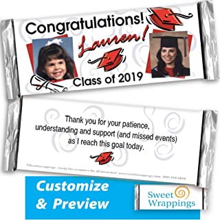 Best personalized candy bar wrappers for graduation Reviews