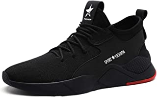 BAOLESEM Steel Toe Work Shoes Women Men Summer Safety Sneakers Puncture Proof Breathable Lightweight Industrial & Construction Shoes