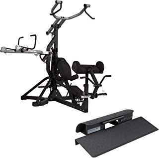 Body-Solid Free-Weight Leverage Gym (SBL460) with Squat Calf Block