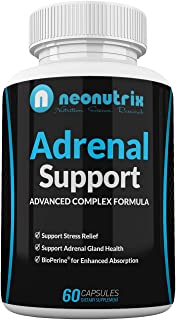 Sponsored Ad - Adrenal Support - Cortisol Management Pills Stress Relief Formula with Complex of Vitamin C, B6, Ashwagandh...