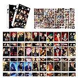 EXO Cards Set,30PCS EXO Greeting Postcards,30PCS EXO Photocards,120PCS EXO Stickers for Greeting(180PCS)