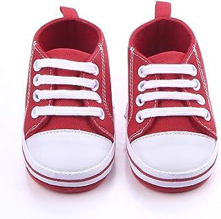 3ecf1b84a4158 Nagodu Shoes Zapato Tipo Tenis Casual para Bebes niños Rojos con Cintas y  Suela Dura