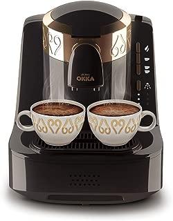 Arzum Ok001 Okka Türk Kahve Makinası, Plastik, Siyah