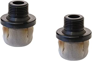 2 pcs Sr. Denoff Aftermarket 288716, Replacement for 288716, 243-082,243082, 195697 Filter Inlet Suction Strainer Airless Paint Sprayer Replacement Inlet Strainer Paint Filter