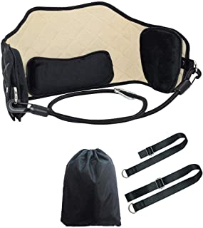 Neck Head Hammock for Neck Pain Relief Portable Relaxation Supporter Cervical Traction Massager for Muscles Pain Relief Re...