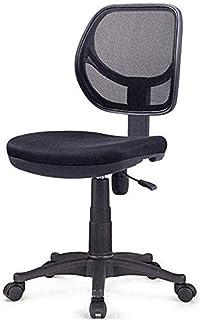 Sillón -Low Back Office Armchairless Ordenador Silla de la computadora de Escritorio de tareas for sillas de Ruedas giratorias Inicio Silla de Escritorio Ascensor Silla de Oficina Silla Taburete