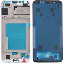 XULILINPARTS Front Housing LCD Frame Bezel for Huawei Y6 (2018) (Black) (Color : White)