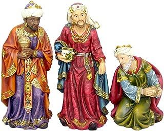 Hi-Line Gift Ltd 81856 3 Wise Men Christmas Nativity Pieces Decor