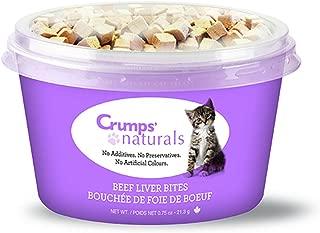 Crumps' Naturals Cat Treats-Freeze Dried Liver (1 Pack), 21.3G/.75 Oz