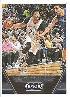 Anthony Davis New Orleans Pelicans 2015-16 Panini Threads Basketball Card #106