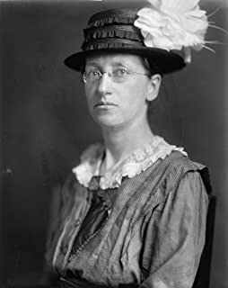 Emily Greene Balch N(1867-1961) American Economist Writer And Pacifist Winner Of The Nobel Peace Prize In 1946 Photograph ...